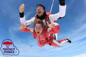 Spannend uitje met Partner - Parachutespringen.nl