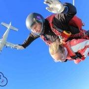 Parachutespringen Vliegveld Texel